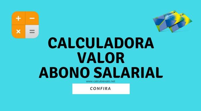 Calcular Valor do Abono Salarial