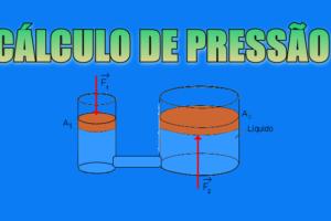 cálculo de pressão