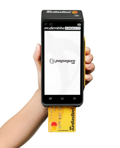 Maquininhas de Cartão PagSeguro - moderninha-Smart-conta-digital
