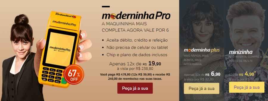 maquinhas PagSeguro promoção