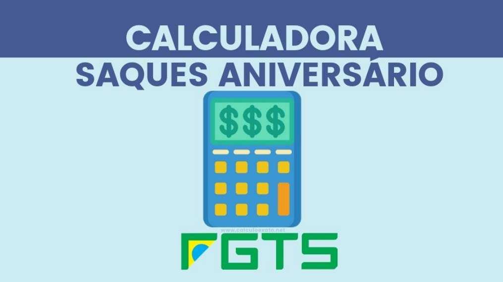Calculadora saque aniversario