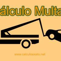 calculo multas de transito