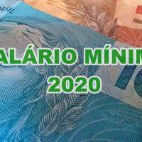 novo salario minimo 2020