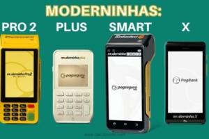 Moderninhas - plus, pro2, smart e x