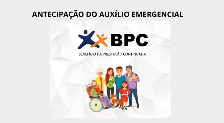 BPC-LOAS tem auxilio emergencial antecipado