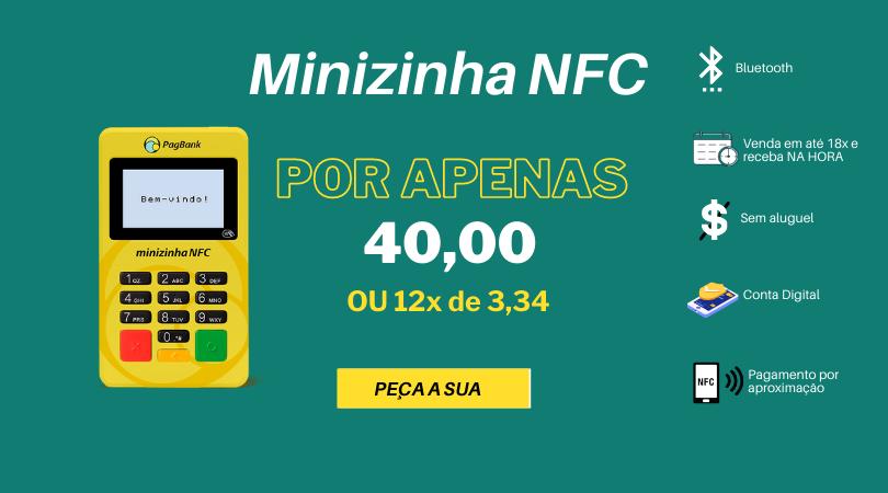 Minizinha NFC com desconto