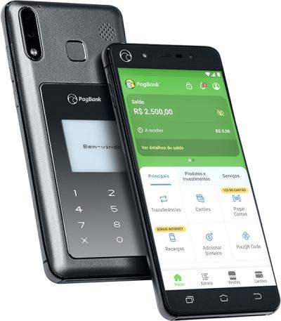 celular maquina de cartão- Pagphone