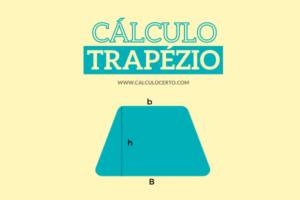 cálculo do trapézio